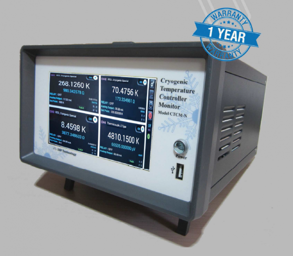 Cryogenic Temperature Controller Monitor