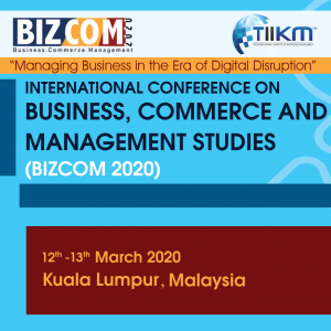 Business, Commerce and Management