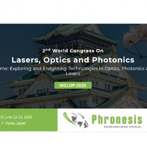 Lasers, Optics and Photonics