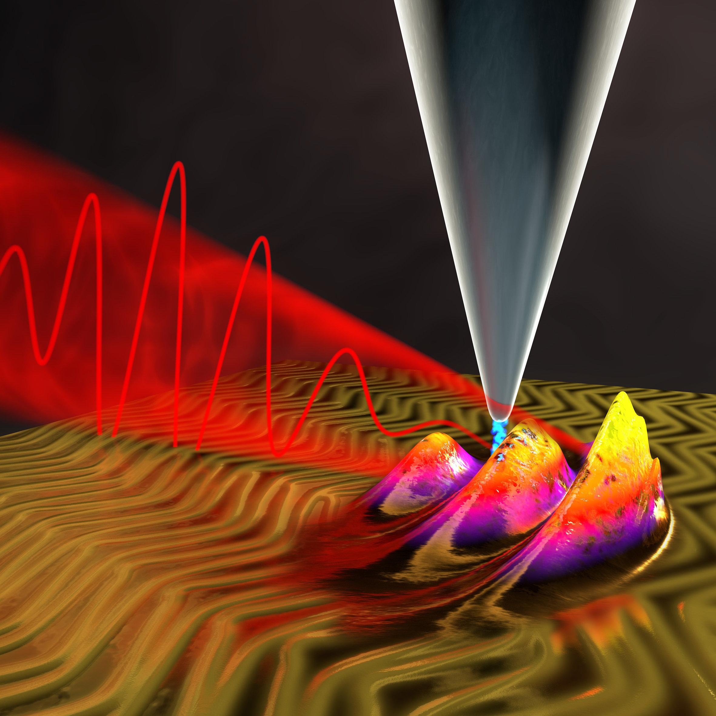 ultra-fast quantum microscope