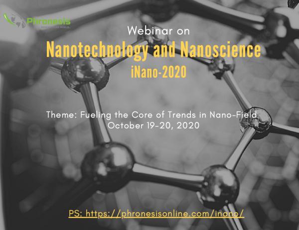 Webinar on Nanotechnology and Nanoscience iNano-2020