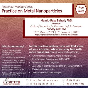 Practice on Metal Nanoparticles
