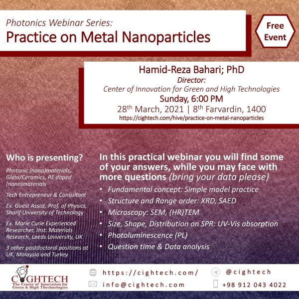 Practice on Metal Nanoparticles
