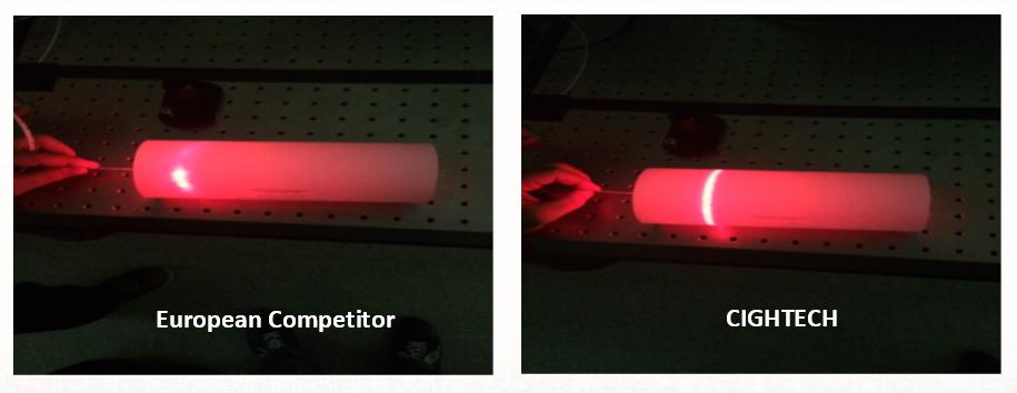 Endovenous laser ablation Probe
