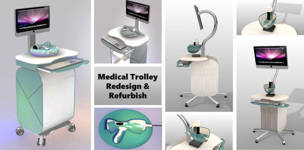 Medical Trolley Redesign & Refurbish